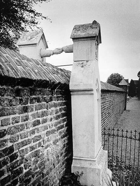 The grave of the Protestant Colonel of Cavalry, JWC of Gorkum and the Catholic damsel JCPH of Aefferden