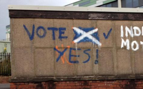 Gourock_Yes Over No