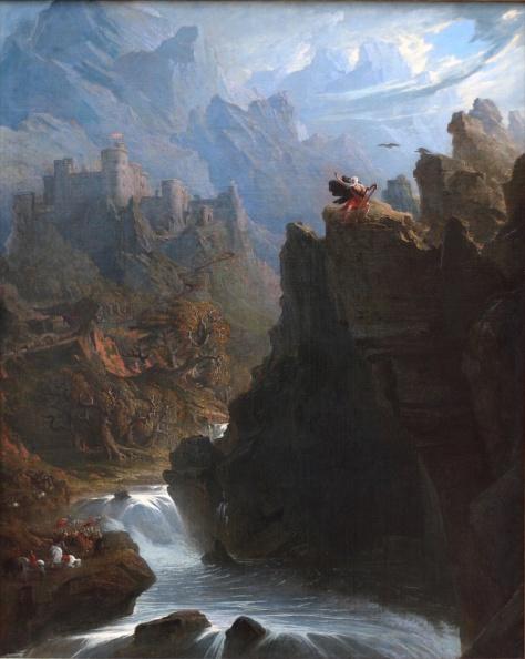 The Bard by John Martin 1817