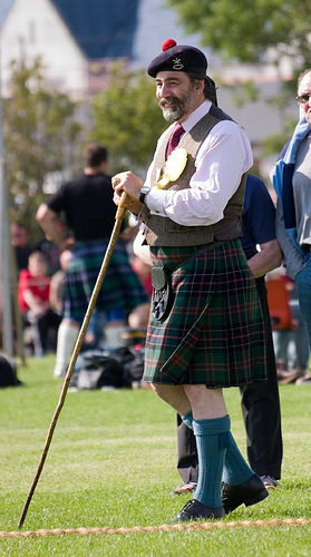 If there's a parallel universe where modern Scotland was Brigadoon, John Thurso would be dressed like this in all realities.