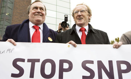 New Labour in Scotland's modus operandi is starting to lose some of its subtlety...
