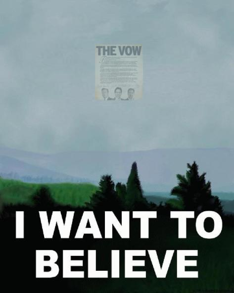OK, this wasn't fair - there's no way the Vow's out there.