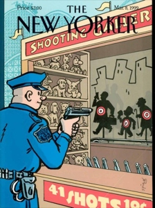Art Spiegelman's 1999 cartoon for the New Yorker on the death of Amadou Diallo echoes even modern anxieties about police in the United States.