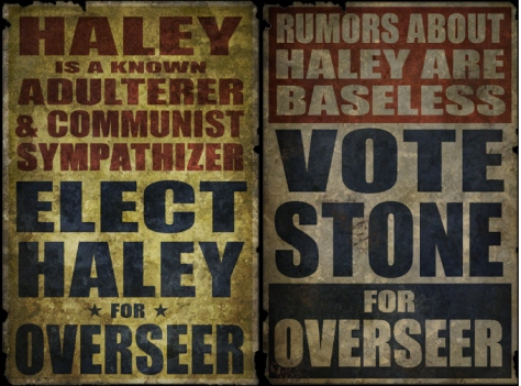 Vote Haley Vote Stone