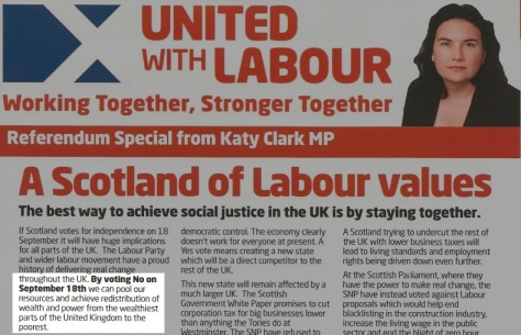 Given that Scotland is one of the wealthier parts of the UK... well, you do the maths.
