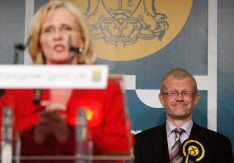Perhaps John will have the last laugh, as he remains an MSP while Ms Curran won't get a second chance.