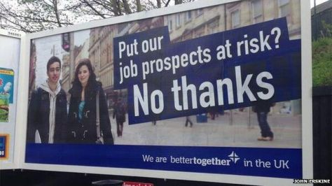 """Nobody puts our job prospects at risk but US!"""