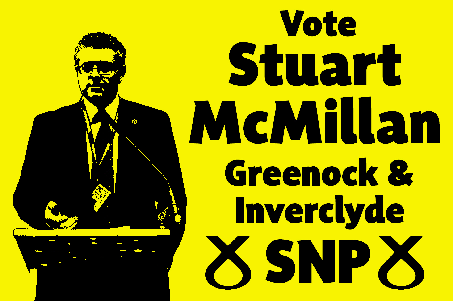 Stuart McMillan has represented West Scotland as a regional MSP since 2007. He has fought every election for the Greenock & Inverclyde Constituency, and greatly increased his vote share each time.