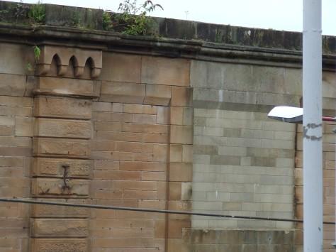 Greenock Central Wall