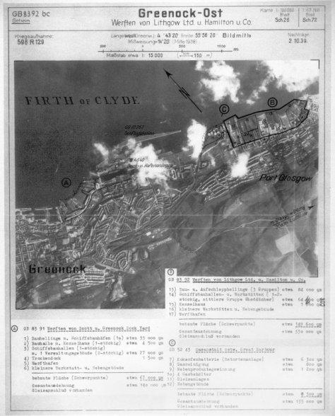 GreenockBlitz_Luftwaffe Map