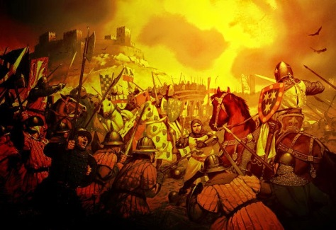 Battle of Stirling Bridge_Angus McBride_edit