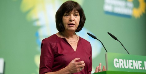 Rebecca Harms German MEP Greens European Free Alliance