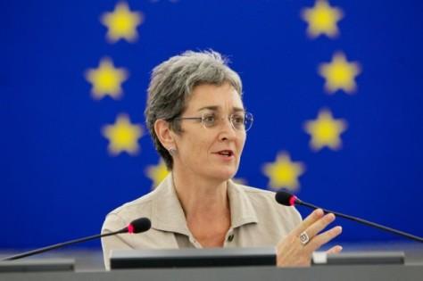 Ulrike Lunacek Austrian Green MEP European Parliament Vice President