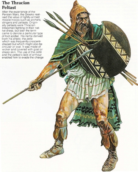 thracian-peltast