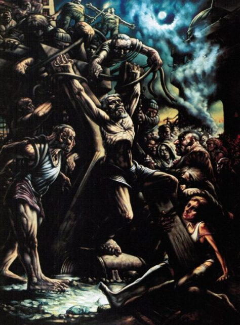 crucifixion-of-saint-andrew-by-peter-howson