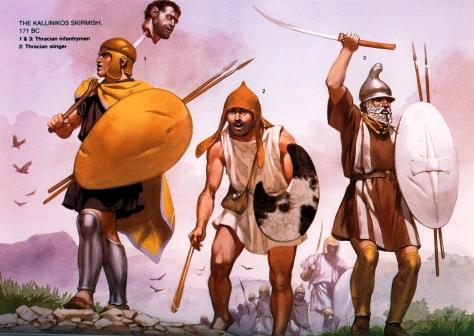 thracian-warriors_angus-mcbride