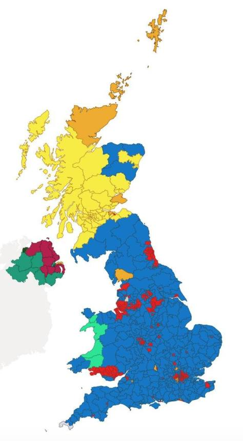 UK General Election 2019 Results
